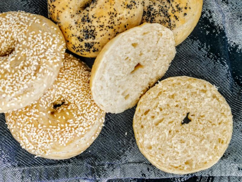 Hjemmelavet bagels