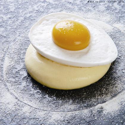 Sødt dessert spejlæg (c)molekymi.dk