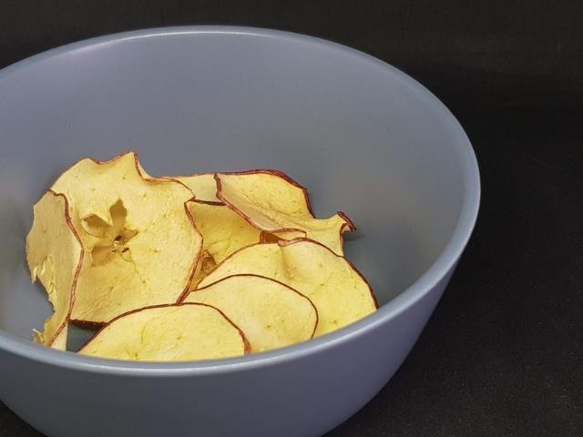 Tørrede æbler